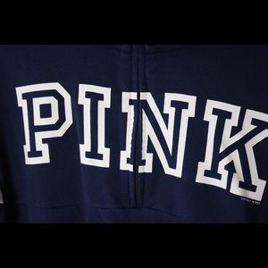 PINK Victoria's Secret Tops - PINK Quarter/ Half Zip